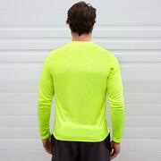 Men's Running Long Sleeve Tech Tee - Land That I Run