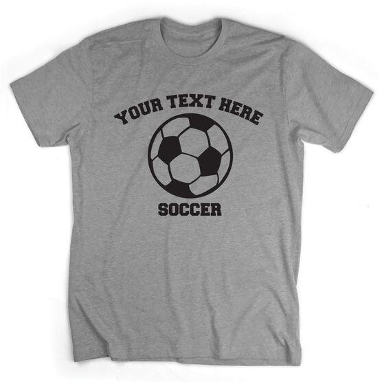 acdc18515 Custom Soccer T-Shirt Short Sleeve