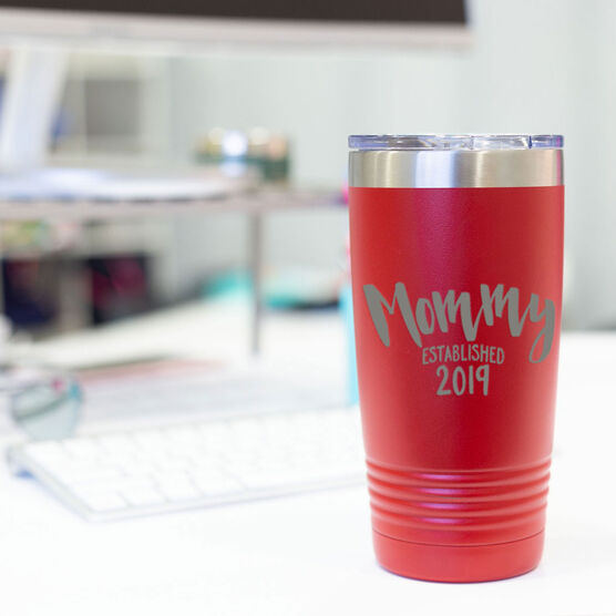 Personalized 20 oz. Double Insulated Tumbler - Mommy Established