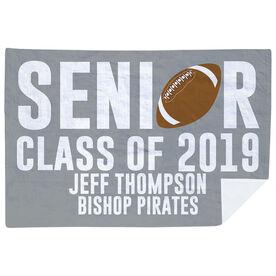 Football Premium Blanket - Personalized Senior Class Of