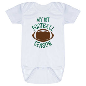 Football Baby One-Piece - My First Football Season
