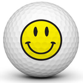 Smiley Golf Ball