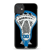 Guys Lacrosse iPhone® Case - Personalized Stick Head