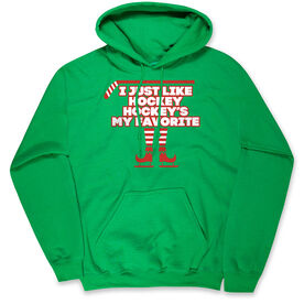 Hockey Hooded Sweatshirt - Hockey's My Favorite