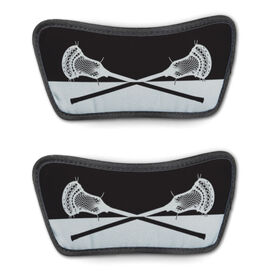Guys Lacrosse Repwell® Sandal Straps - Colorblock Sticks [Black/Gray/Mens 10] - SS