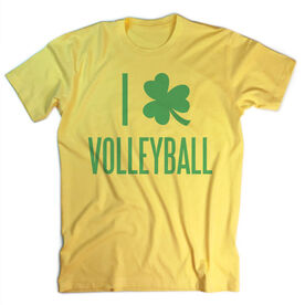Vintage Volleyball T-Shirt - I Shamrock Volleyball