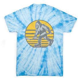 Hockey Short Sleeve T-Shirt - Hockey BigSkate Tie Dye
