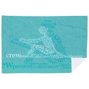 Crew Premium Blanket - Crew Words