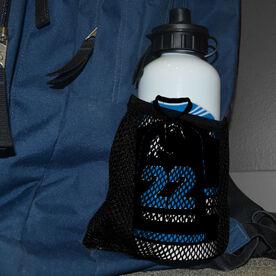 Hockey 20 oz. Stainless Steel Water Bottle - Personalized Hockey Jersey
