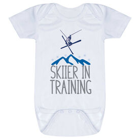 Skiing Baby One-Piece - Skier In Training