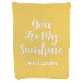 Personalized Baby Blanket - You Are My Sunshine