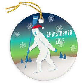 Crew Porcelain Ornament Abominable Snowman
