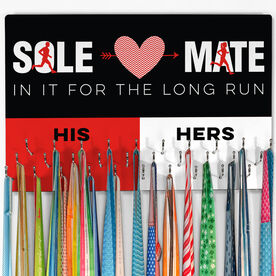 Running Large Hooked on Medals Hanger - Sole Mates His Hers