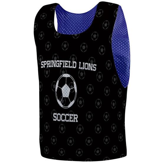 Soccer Pinnie - Custom Soccer Ball