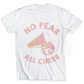 Vintage Cheerleading T-Shirt - No Fear All Cheer