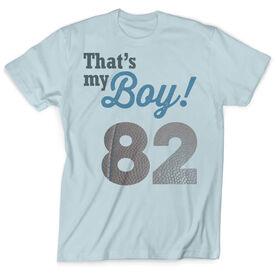 Vintage Football T-Shirt - That's My Boy