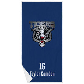Tennis Premium Beach Towel - Custom Team Logo