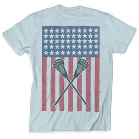 Guys Lacrosse Vintage T-Shirt - USA Lax