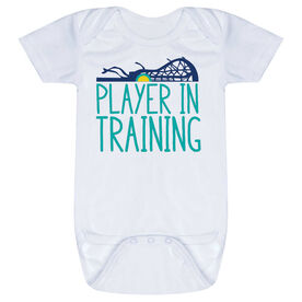 Girls Lacrosse Baby One-Piece - Player In Training