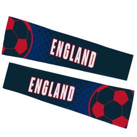 Soccer Printed Arm Sleeves - Soccer England