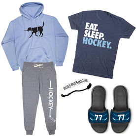 Girl Hockey Player Outfit