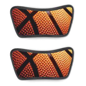 Basketball Repwell™ Sandal Straps - Basketball Texture