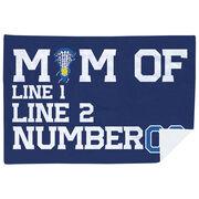 Girls Lacrosse Premium Blanket - Personalized Lacrosse Mom