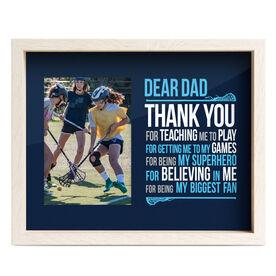 Girls Lacrosse Premier Frame - Dear Dad