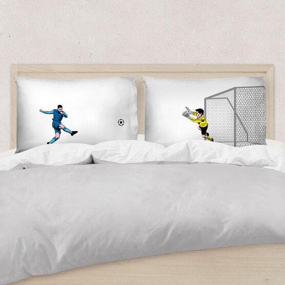 Soccer Pillowcase Set - Go For The Goal