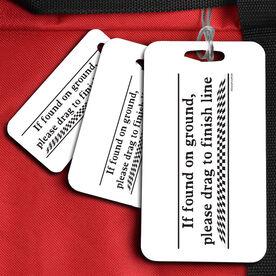 If Found - Running Sport Bag/Luggage Tag