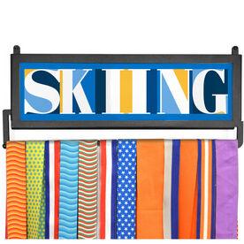 AthletesWALL Medal Display - Skiing Mosaic
