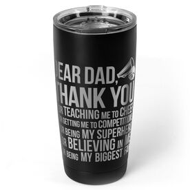 Cheerleading 20 oz. Double Insulated Tumbler - Dear Dad