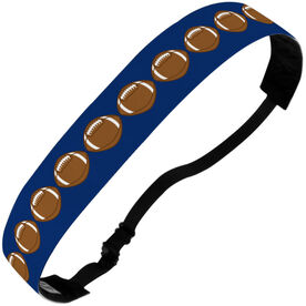 Football Julibands No-Slip Headbands - Football Stripe Pattern