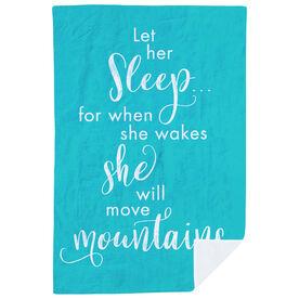 Running Premium Blanket - Let Her Sleep