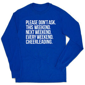 Cheerleading Tshirt Long Sleeve - All Weekend Cheerleading