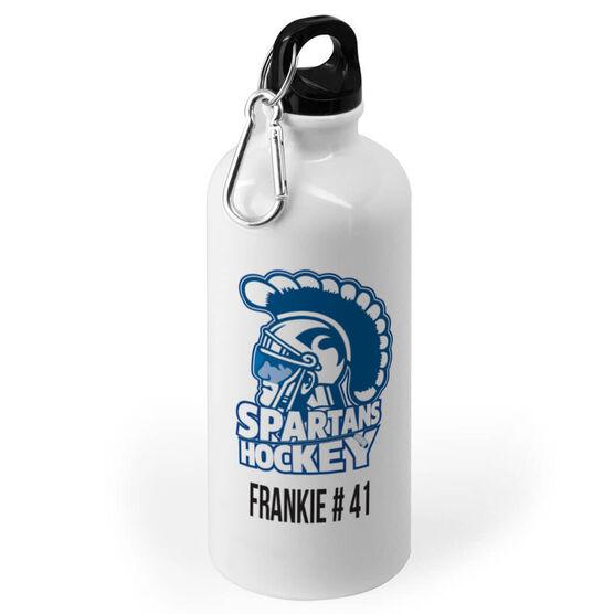 Hockey 20 oz. Stainless Steel Water Bottle - Custom Logo