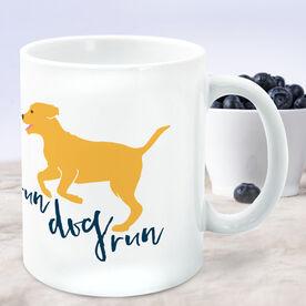 Running Coffee Mug - Run Dog Run
