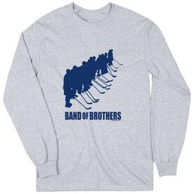 Hockey Tshirt Long Sleeve Hockey Band of Brothers