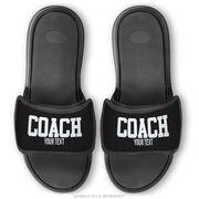 Personalized Repwell® Sandal Straps - Coach