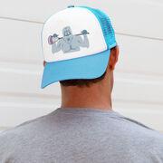 Guys Lacrosse Trucker Hat You Yeti To Lax?