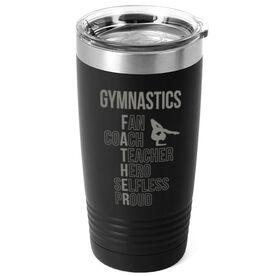 Gymnastics 20 oz. Double Insulated Tumbler - Gymnastics Father Words
