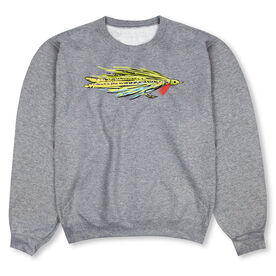 Fly Fishing Crew Neck Sweatshirt - Fly Fishing Deceiver