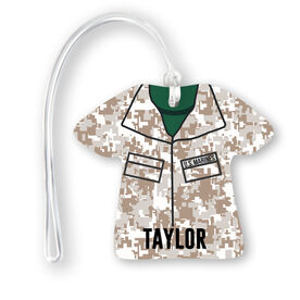 Personalized Jersey Bag/Luggage Tag - Camouflage