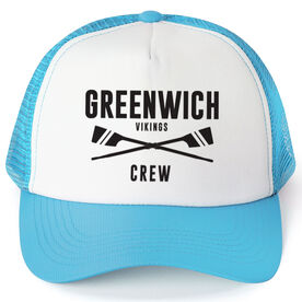 Crew Trucker Hat - Team Name With Text