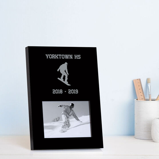Snowboarding Photo Frame - Team