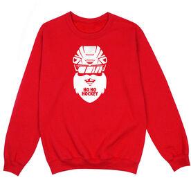 Hockey Crew Neck Sweatshirt - ho ho hockey