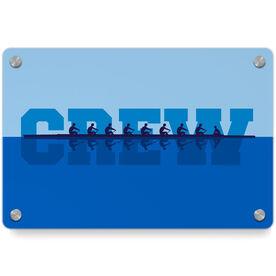 Crew Metal Wall Art Panel - Water Reflection
