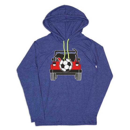 Men's Soccer Lightweight Hoodie - Soccer Cruiser