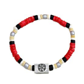 SportBEAD Soccer Bracelet (Red) -CC