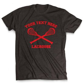 Lacrosse Custom Short Sleeve T-Shirt